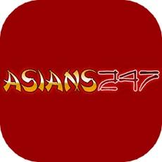 Asians247のアプリアイコン風のロゴ