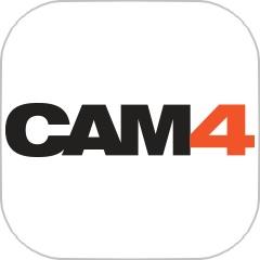 cam4のアプリアイコン風のロゴ