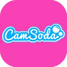 camsodaのアプリアイコン風のロゴ