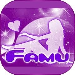 ファムのアプリアイコン風のロゴ