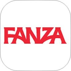 FANZAライブチャットのアプリアイコン風のロゴ