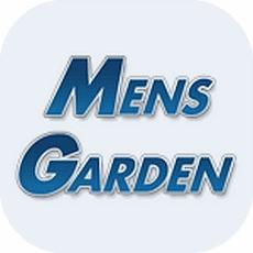 メンズガーデンのアプリアイコン風のロゴ