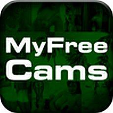 myfreecamsのアプリアイコン風のロゴ
