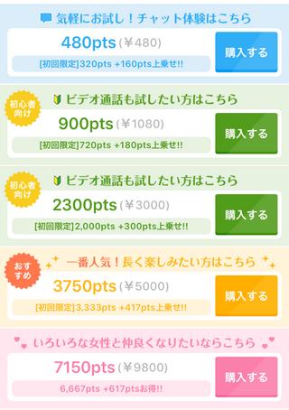 「TSUBAKI」ポイント購入一覧