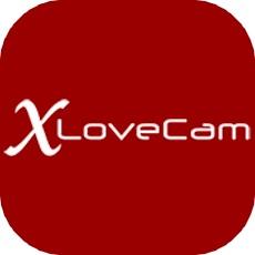 xlovecamのアプリアイコン風のロゴ